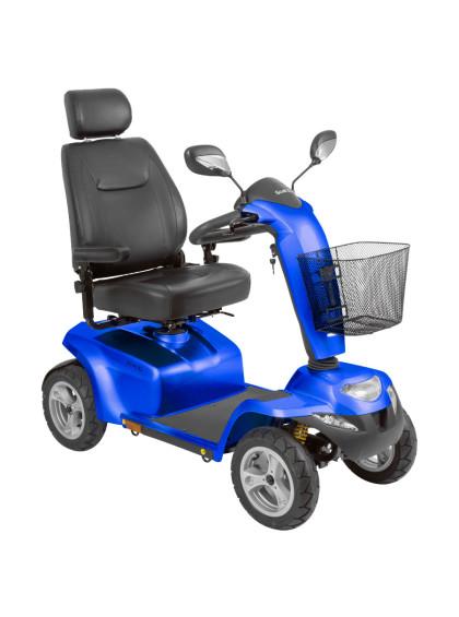 Scooter Scott XL até 181kg na cor Azul Metálico da marca Ottobock