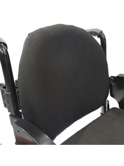 Cadeira de Rodas Monobloco M3 44cm Vermelho Perolizado com Pneus Cinza Ortobras