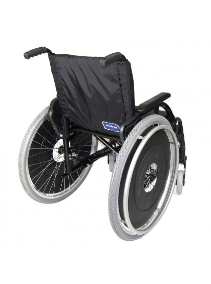 Cadeira de Rodas K3 Alumínio Pés Removíveis 42cm Verde Oliva Ortobras