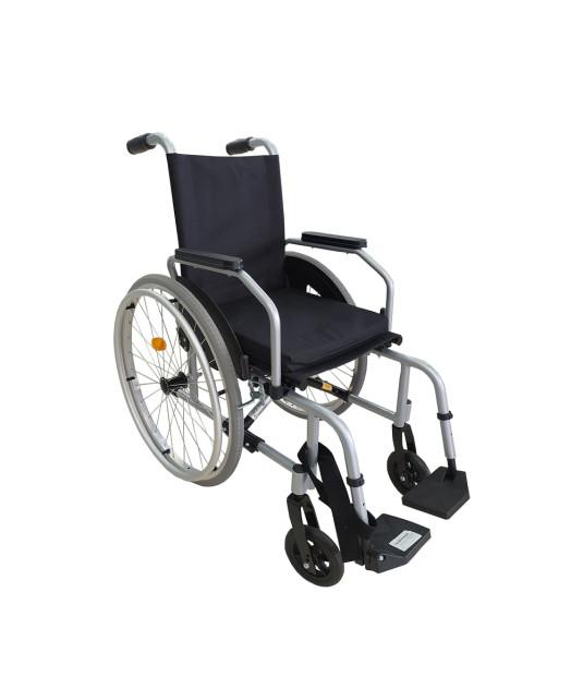 Cadeira de Rodas Alumínio Start C1 Pés Rebatíveis Prata Ottobock