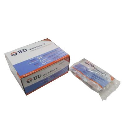 Seringa Ultra Fine U-50 8,0x0,33 com 10 und BD