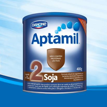 Aptamil Soja 2 Lata 400g Danone