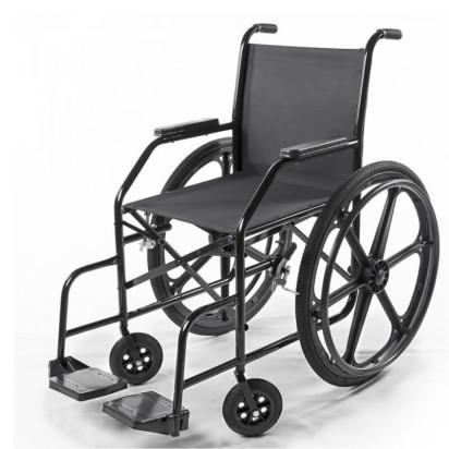 Cadeira de Rodas Nylon Pés Fixos Pneu Inflável PL002 Prolife