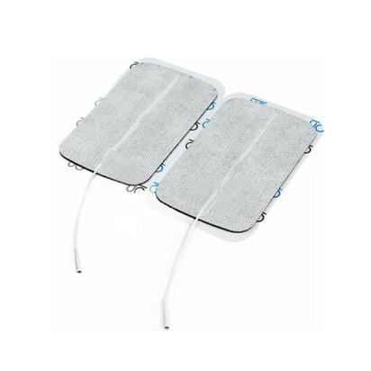 Eletrodo Descartável Silicone Auto Adesivo 7,5x13cm com 2 Unidades Carcitrode