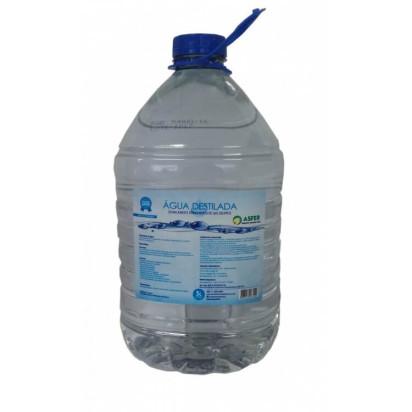 Água Destilada 5 Litros Asfer