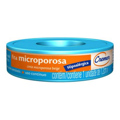 Micropore 1,2cmX10m Branca com Capa Cremer