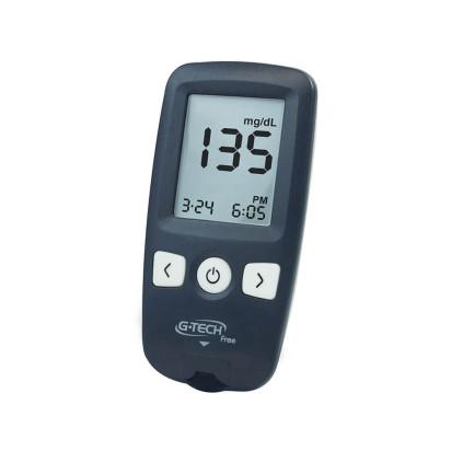 Kit Medidor de Glicose G-Tech Free + 10 Tiras