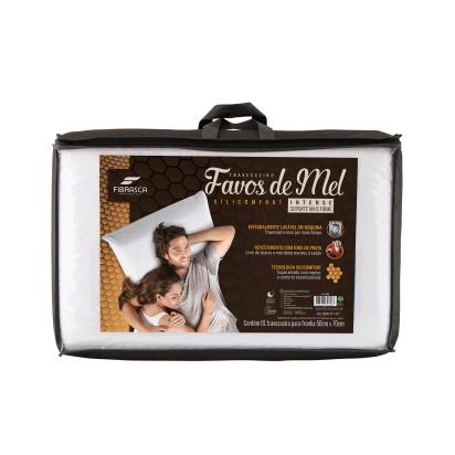 Travesseiro Favos de Mel Densidade 30 WC4898 Fibrasca