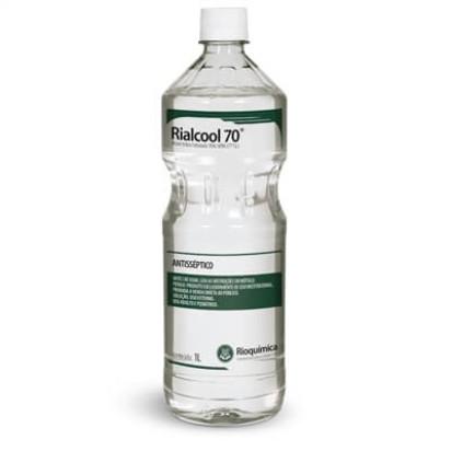 Álcool Etílico Rialcool 70% 1000ml