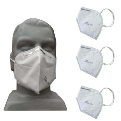 Máscara KN95 c/ Elástico e Clip Nasal KIT c/ 3 Unidades