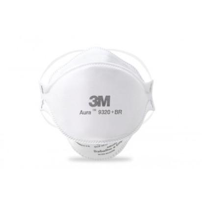 Mascara de Protecao  Aura 9320 PFF2 3M  - Casa Médica
