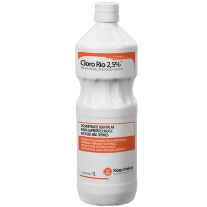 Hipoclorito de Sódio Cloro-Rio 1% 1000ml Rioquímica