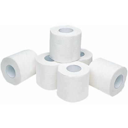 Papel Higiênico Ecopaper Rolão Branco II Cx C/ 8 uni 10cmx300mts Ecopaper