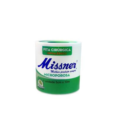 Micropore 5cmx10m Branco com Capa Missner