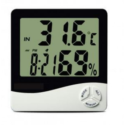 Termo-Higrômetro Digital Máx/Min sem Cabo Externo TH50 Incoterm
