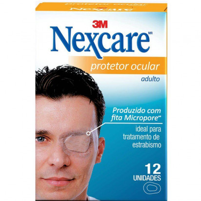 Protetor Ocular Nexcare Opticlude Adulto C/ 12 Unidades 3M