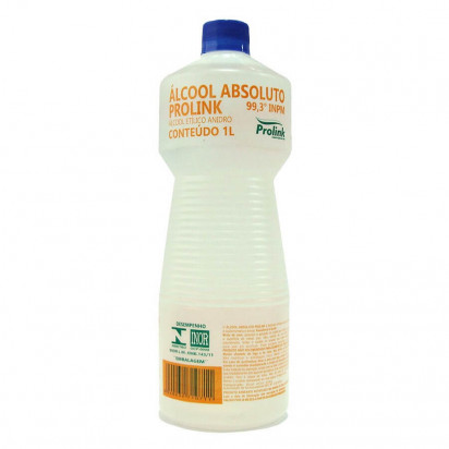 Álcool Absoluto 99,3% 1000ml Prolink