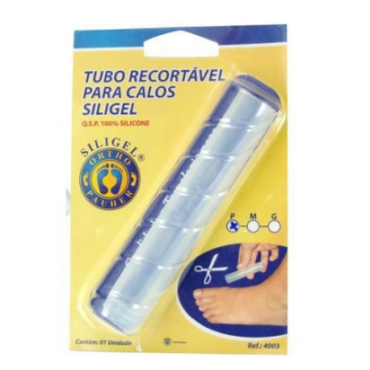 Tubo Recortável Para Calos Siligel M Ortho Pauher