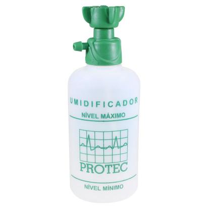 Frasco Umidificador 250 ml para O2 Protec