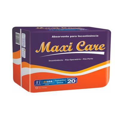 Absorvente Maxi Care com 20 Eurofral