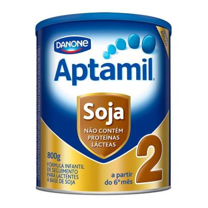 Aptamil Soja 2 Lata 800g Danone