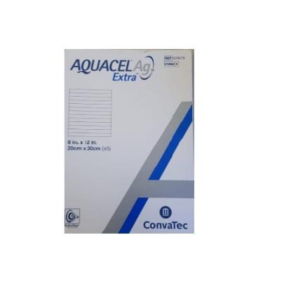 Aquacel Extra Ag Prata 20x30cm Convatec