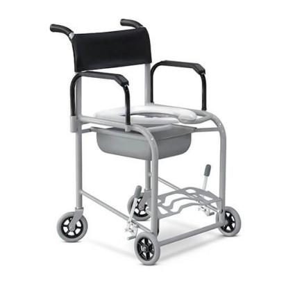 Cadeira de Banho Fixo Alumínio com Coletor Ortobras