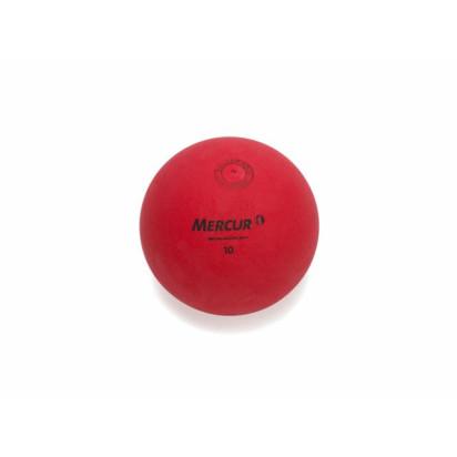 Bola de Borracha N°10 350g Vermelha Mercur