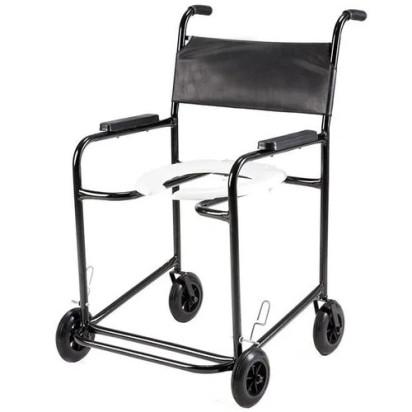 Cadeira de Banho Obeso Flex Plus Braço Fixo PL2001