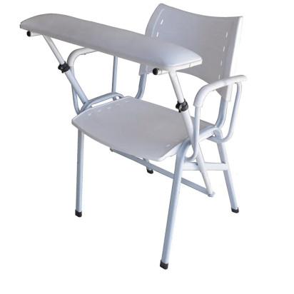 Cadeira Coleta Sangue Assento Plástico Braço Estofado Renascer