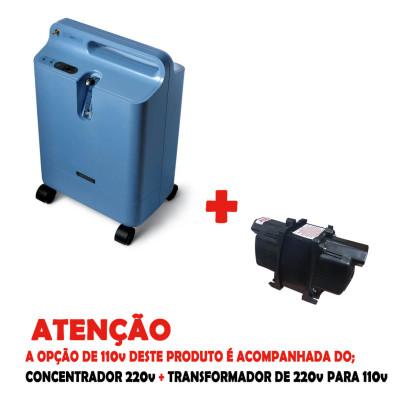 Concentrador de Oxigênio Respironics Everflo 5LPM 220V
