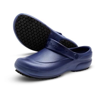 Crocs em E.V.A Antiderrapante Azul Marinho Soft Works