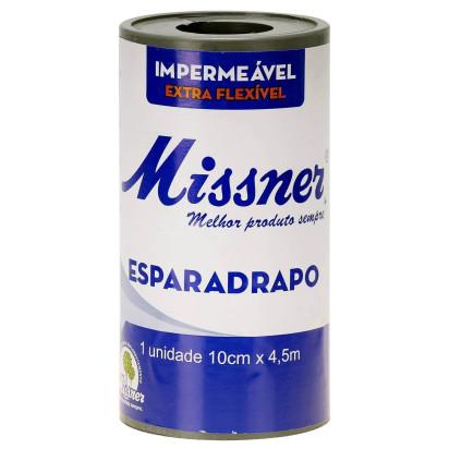 Esparadrapo com Capa Missner 10x4.5mt Branco