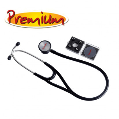 Estetoscópio Premium Cardiológico Aço Inox