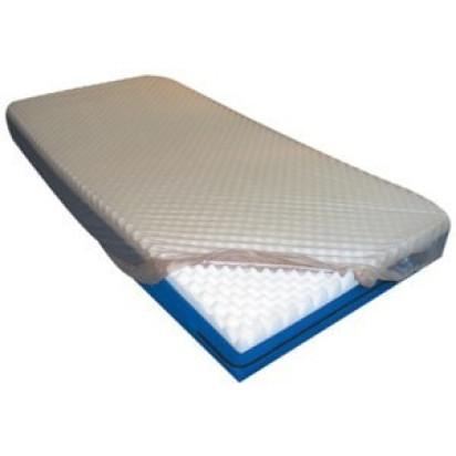 Lençol Impermeável Solteiro PVC Siliconado Bege 1,90X0,90X0,20 Bioflex