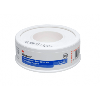 Micropore 12,5mmx10mt branco c/capa 3M