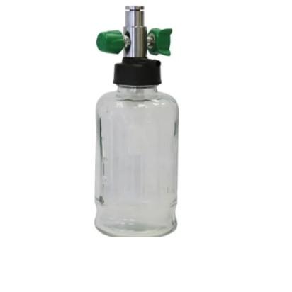 Aspirador venturi std para oxigenio com frasco vidro 500ml