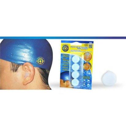 Protetor de Ouvido Azul Silicone Ortho Pauher