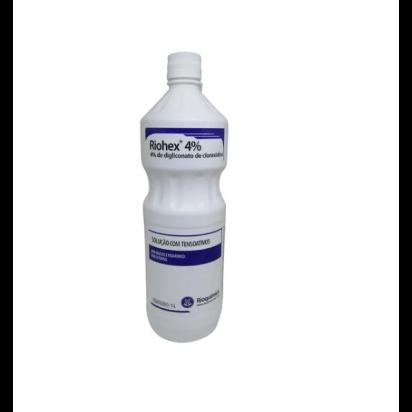 Clorexidina riohex degermante 4% 1000ml c/ dispensador