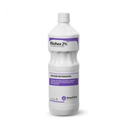 Clorexidina Riohex Degermante 2% 1000ml Rioquimica