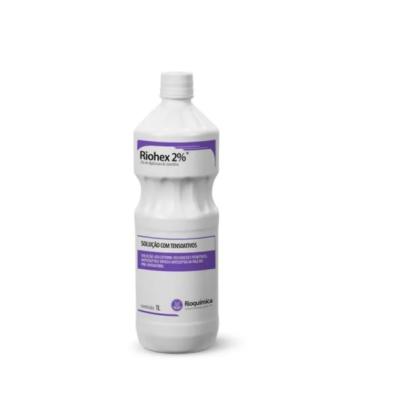 Clorexidina riohex degermante 2% 1000ml c/ dispensador Rioquimica