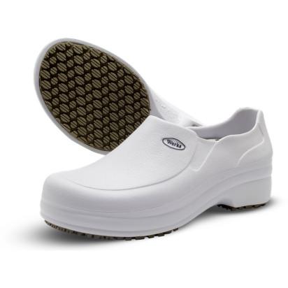 Sapato em E.V.A Antiderrapante Branco Soft Works