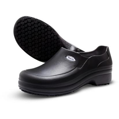 Sapato em E.V.A Antiderrapante Preto Soft Works