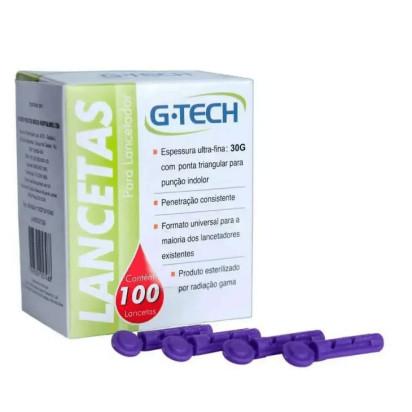Lanceta G-Tech 30g com 100 Und