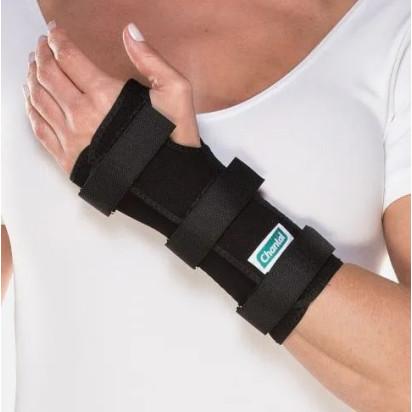 Tala Curta para Punho Lado Esquerdo Dedos Livres na cor Preta da marca  Chantal