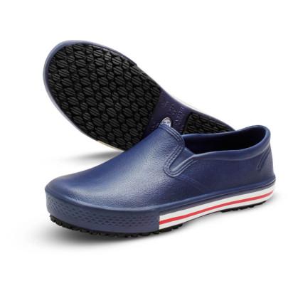 Tênis em E.V.A Antiderrapante na cor Azul Marinho da marca Soft Works