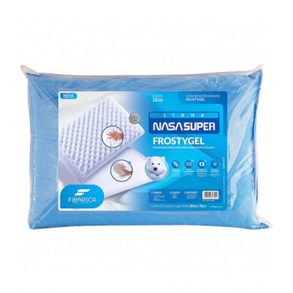 Travesseiro Nasa Super Frostygel Fibrasca