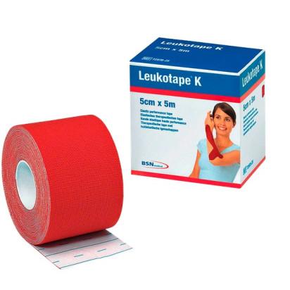 Bandagem Elástica Leukotape K 5cm x 5m Vermelho BSN