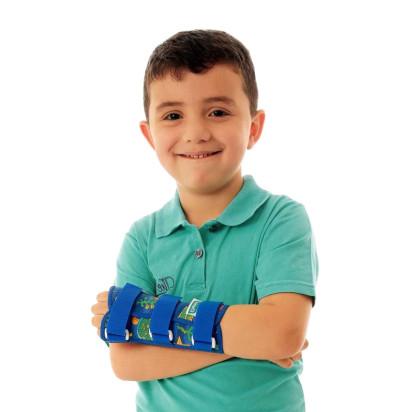 Tala para Punho com Dedos Livres Infantil Esquerdo Curta 13-15cm Chantal